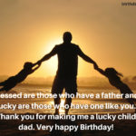 Birthday Wishes For Father From Daughter Tumblr