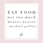 Eat Mostly Plants Quote Facebook