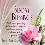 Good Morning And Happy Sunday Message