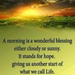 Good Morning Greetings Quotes