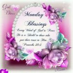 Good Morning Monday Blessings Quotes Tumblr