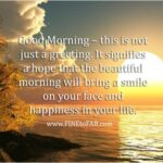 Good Morning Quotes On Life With Images Twitter