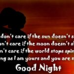 Good Night Romantic Message For Wife Twitter