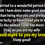 Good Night Wishes For Wife Tumblr