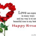 Happy Rose Day Wishes To Husband Pinterest