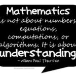 Inspirational Math Quotes For Teachers Pinterest