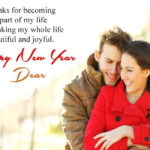 New Year Wishes Messages For Love Pinterest