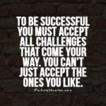 Quotes About Challenges And Success Facebook