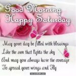 Saturday Good Morning Images With Quotes Facebook
