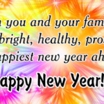 Wish You Happy New Year To You And Your Family Facebook